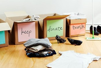 Declutter your house and Mind - Lunchtime Interlude