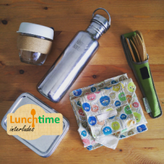 Lunch time interlude - How I Live a Plastic-Free Life