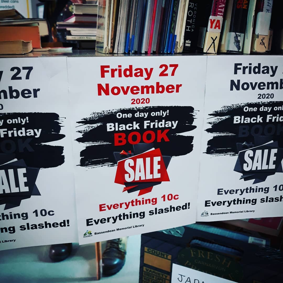 Black Friday BOOK SALE!!!