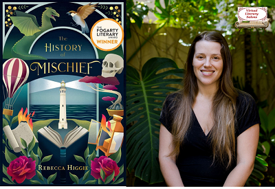 Virtual Literary Salon with Rebecca Higgie
