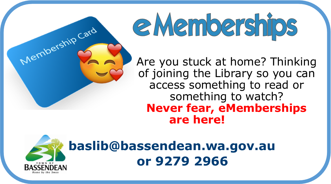 Never fear, eMemberships are here!