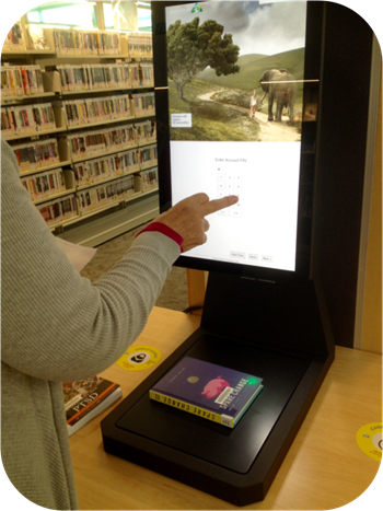 Welcome to our new touch screen  Self-Service Kiosk!